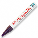 Wild Heather Zig Acrylista 6mm chisel tip paint marker